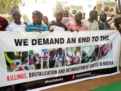 Sheikh zakzaky deprived of medical care: Daily Free Zakzaky Sit out In Abuja Enters Second Day - Reflection-Online