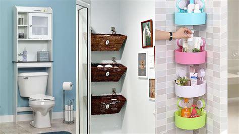 small bathrooms  creative storage ideas