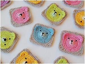 Crochet Teddy Bear - Granny Square [Tutorial] - STYLESIDEA