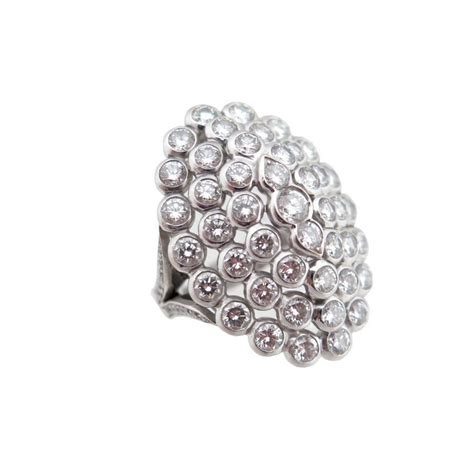bague marquise en or blanc sertie de 59 diamants 5