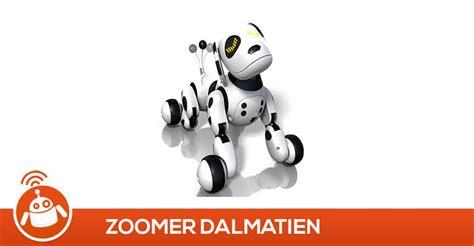 zoomer dalmatien  test avis chien robot interactif