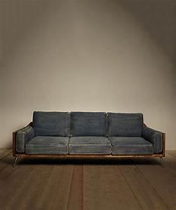 sarreid ltd denim sofa diy and crafts look at and With denim sofa bed
