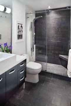 nice minimalist design   small condo bathroom white