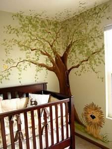 Babyzimmer Gestalten Beispiele : kinderzimmer baum malen ~ Indierocktalk.com Haus und Dekorationen