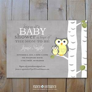 Baby Shower Invitation / Gender Neutral by FancyShmancyNotes