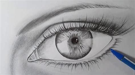 malen mit bleistift wie zeichnet ein auge realistisch mit bleistift schritt f 252 r schritt zeichnung auge