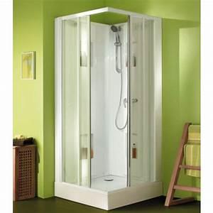 Cabine De Douche 80x80 : cabine de douche 80x80 cm acc s d 39 angle par portes ~ Edinachiropracticcenter.com Idées de Décoration