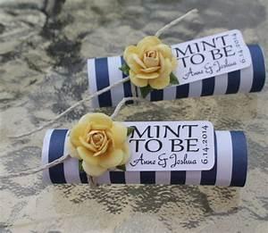 unique mint wedding favors modwedding With best wedding favor ideas