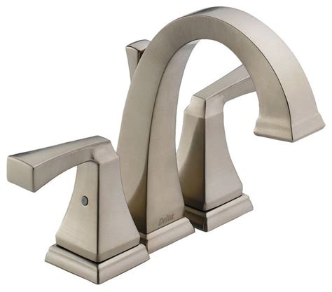 delta dryden mini widespread faucet contemporary