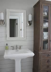 Bathroom Pedestal Sink Storage Cabinet by Glass Front Bathroom Linen Cabinet Transitional Bathroom