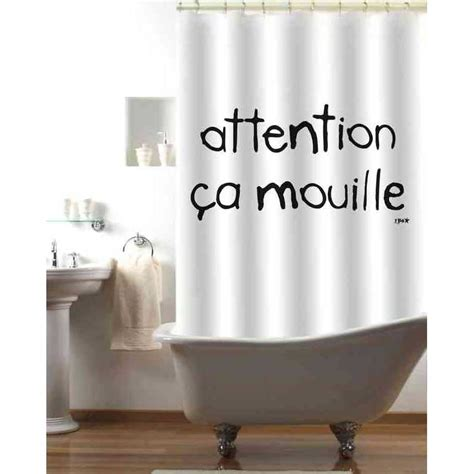 rideau de quot attention 231 a mouille quot 8504 achat vente rideau de sur maginea