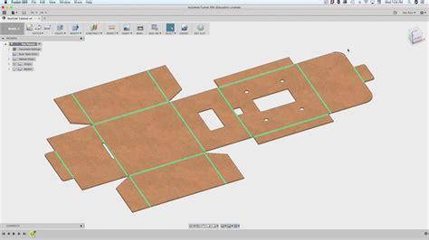 making foldable box designs  fusion  adafruit