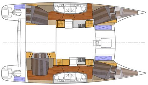 Layout Boat A Vendre by Vendu Fountaine Pajot Orana 44 Occasion 297 A C