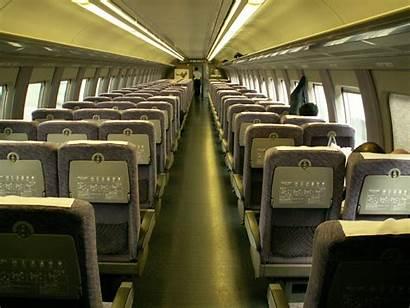 Inside Airplane Bullet Shinkansen Series Trains Travel