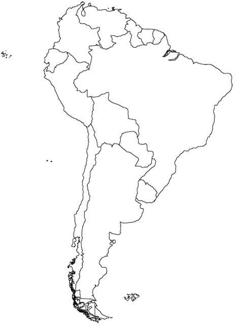 south america map map  south america worldatlascom