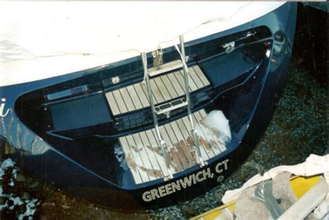 Fiberglass Boat Repair Maine by East Coast Bow Thrusters Professional Mobile Bow
