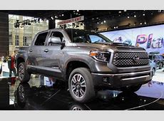 2018 Toyota Tundra Gets Sporty New Trim, Added Safety