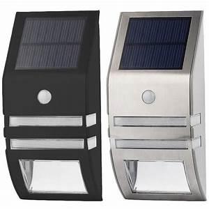 Applique Exterieur Led Avec Detecteur : lampe solaire murale led ext rieur avec d tecteur de ~ Farleysfitness.com Idées de Décoration
