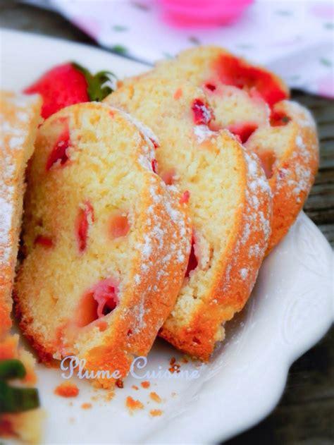 la cuisine de aux fraises cake aux fraises bien moelleux une plume dans la cuisine