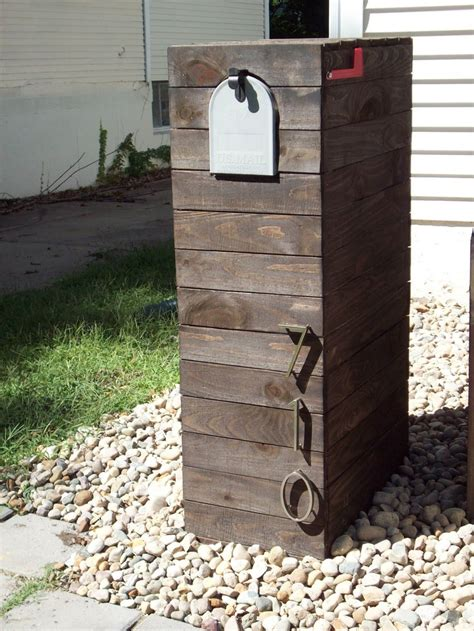 mailbox designs simple wooden mailbox plans woodworking projects plans