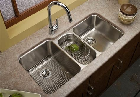kitchen sink and faucet ideas 15 functional basin kitchen sink home design lover 8432