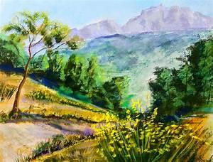 Peindre Au Pastel : paysage proven al pastels secs peintures l 39 huile pastels aquarelle acryliques de patrick ~ Melissatoandfro.com Idées de Décoration