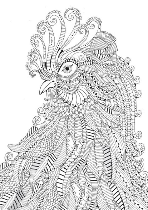printable difficult animals coloring pages  adults everfreecoloringcom