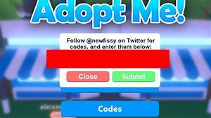 Roblox Adopt Me New Code    One Code     Read Desc