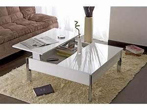 Table Salon Alinea : table basse alinea laque blanc le bois chez vous ~ Teatrodelosmanantiales.com Idées de Décoration