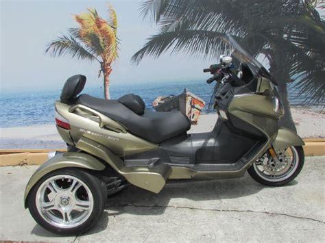 Suzuki Burgman 650 Trike Motorcycles For Sale