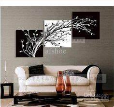 gallery wall made from inexpensive frames scrapbook paper With best brand of paint for kitchen cabinets with black and white canvas wall art cheap