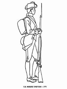 American Revolutionary War coloring pages. Download and ...