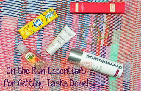 On The Run Essentials For Getting Tasks Done Spf To