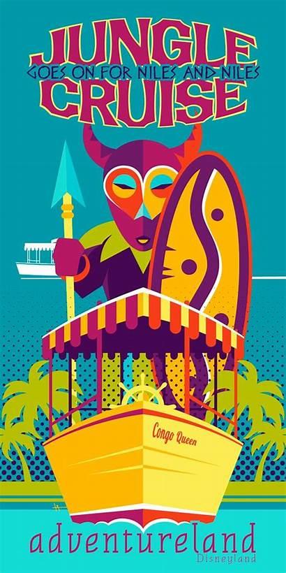 Disney Jungle Cruise Disneyland Poster Posters Adventureland
