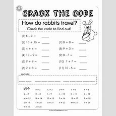 Crack The Code 1  Easter Maths  Easter  Worksheets, Teaching Math, Math