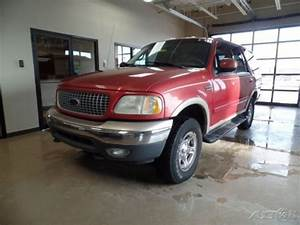 Used 99 Ford Expedition Eddie Bauer 5 4l V8 4x4 Suv Red