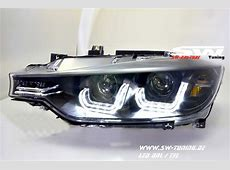 SWDRLtube Angel Eye headlights BMW 3 Series F30 F31 12