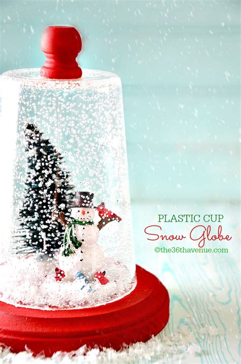 diy snow globes    jolly  season long