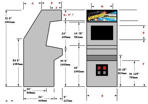 mame cabinet plans pdf do it yourself