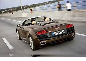 Audi R8 Spyder Comes Equipped With A V10