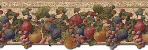 kitchen wallpaper borders fruit gallery