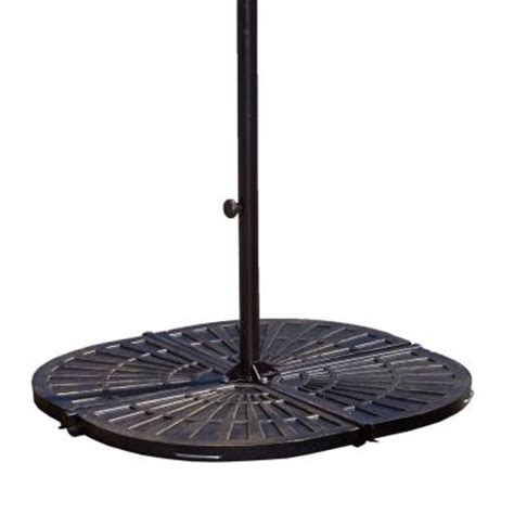 island umbrella 30 lb resin patio umbrella base weights