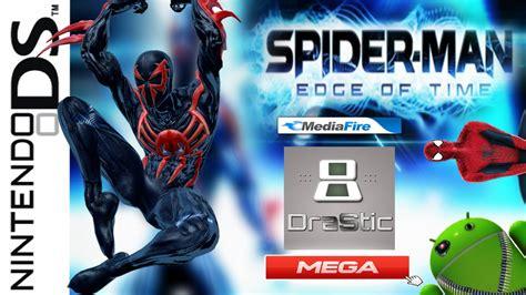 descargar spider man edge  time en espanol  android