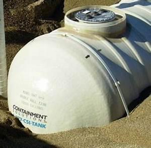 6 000 Gallon Underground Fiberglass Non Potable Waste