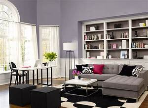 Favorite paint color benjamin moore edgecomb gray for Grey paint schemes living room