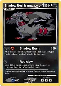 Pokémon Shadow Reshiram 21 21 - Shadow Rush - My Pokemon Card
