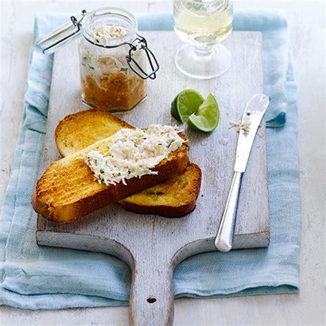 crab pate  toasted brioche pate recipe good housekeeping