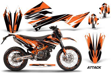 ktm adventurer 690 enduro enduro r bike graphic decal kit 2012 2018