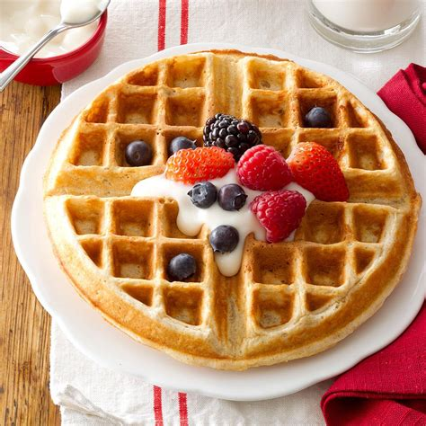 family favorite oatmeal waffles recipe taste of home