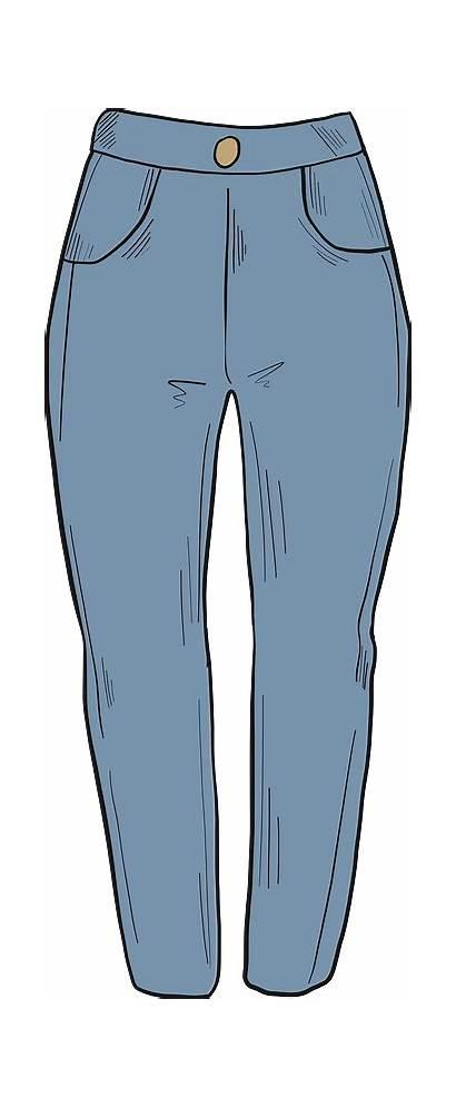 Clipart Pants Cliparts Creazilla Transparent